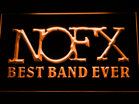 NOFX Best Band Ever LED Neon Sign