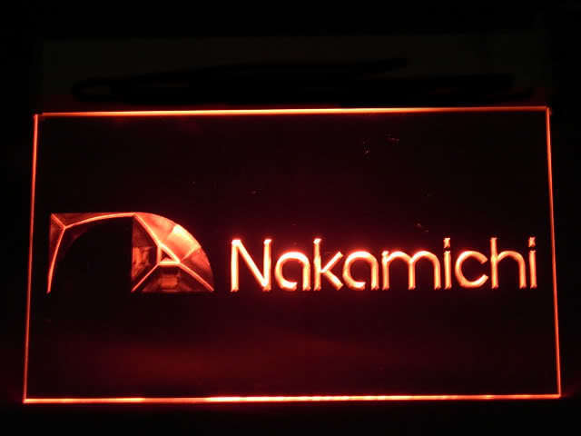 Nakamichi Audio LED Light Sign