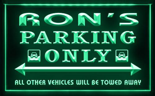 Name Personalized Custom Car Parking Only
