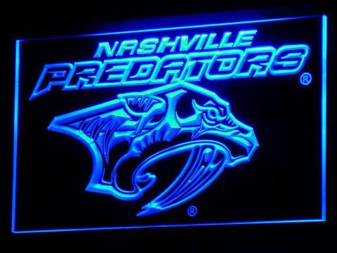Nashville Predators LED Neon Sign