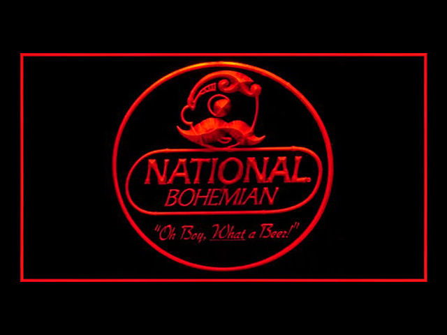 National Bohemian Beer Pub Neon Sign