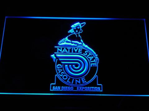 Native State Gasoline LED Neon Sign