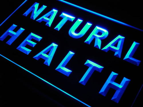 Natural Health Neon Light Sign