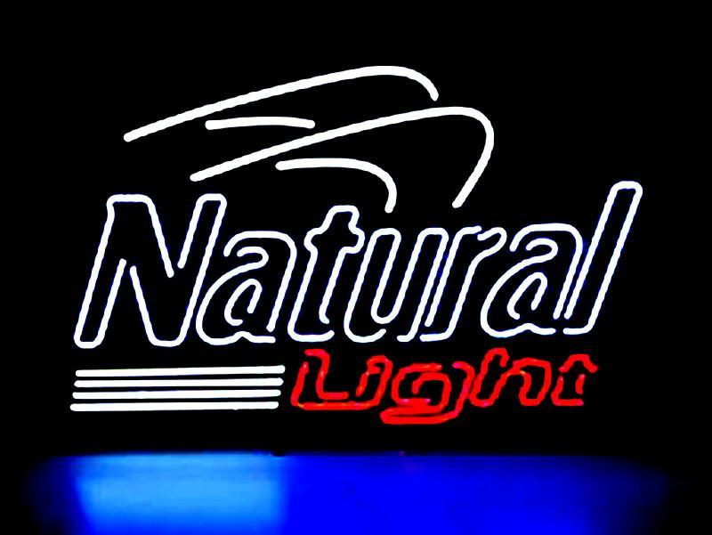 Natural Light Logo Neon Sign