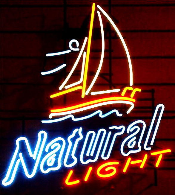 Natural Light Sailing Neon Sign