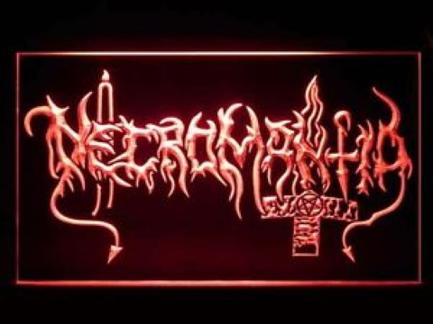 Necromantia LED Neon Sign