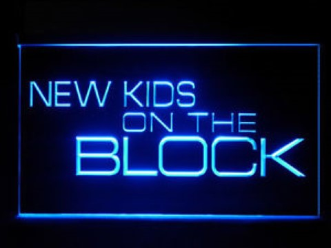 New Kids On The Block LED Neon Sign