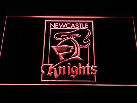 Newcastle Knights Border LED Neon Sign