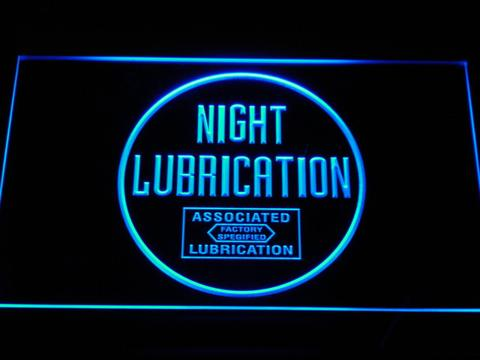 Night Lubrication LED Neon Sign