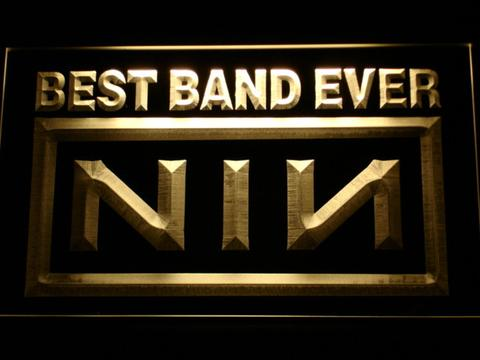 Nine Inch Nails Best Band Ever LED Neon Sign