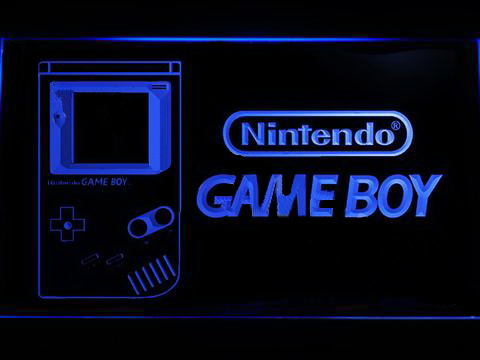 Nintendo Game Boy LED Neon Sign