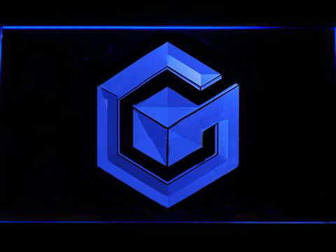 Nintendo Gamecube 2 LED Neon Sign
