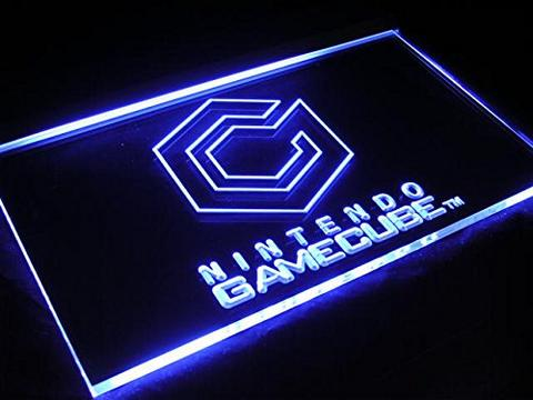 Nintendo Gamecube LED Neon Sign