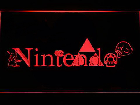 Nintendo LED Neon Sign