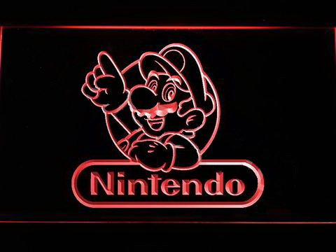 Nintendo Mario 2 LED Neon Sign