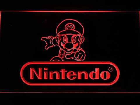 Nintendo Mario 3 LED Neon Sign