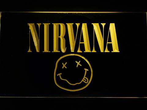 Nirvana LED Neon Sign