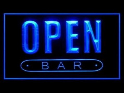 OPEN Bar Beer LED Neon Sign