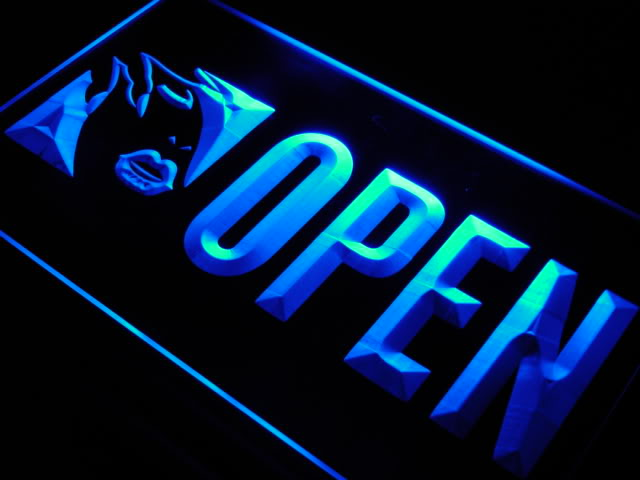 OPEN Beauty Make Up LED Sign