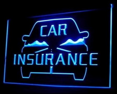 OPEN Car Insurance Services LED Neon Sign