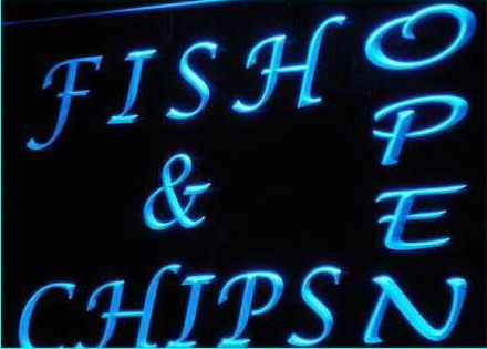 OPEN Fish Chips Cafe Restaurant