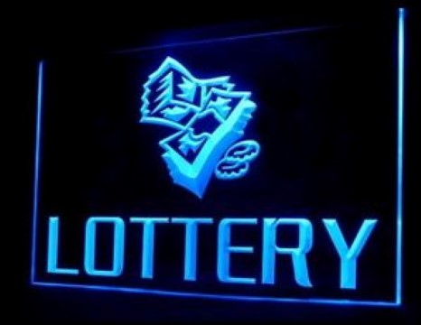 OPEN Lottery LED Neon Sign