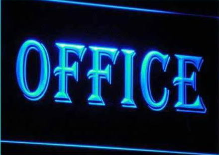 OPEN OFFICE Business Displays Neon Light Signs