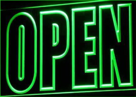 OPEN Shop Display Cafe Business Neon Light Sign