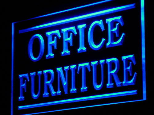 Office Furniture Supplier Display neon Sign