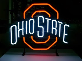 Ohio State Classic Neon Light Sign 17 x 14