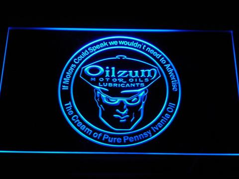 Oilzum Motor Oil LED Neon Sign