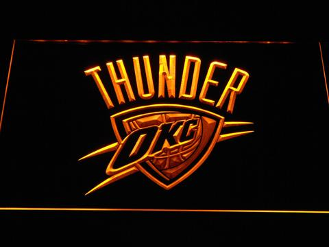Oklahoma City Thunder LED Neon Sign