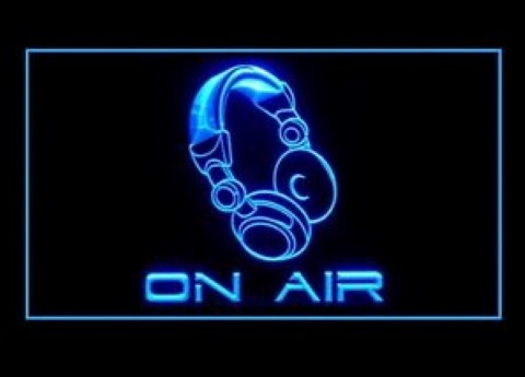 On The Air Recoding LED Neon Sign