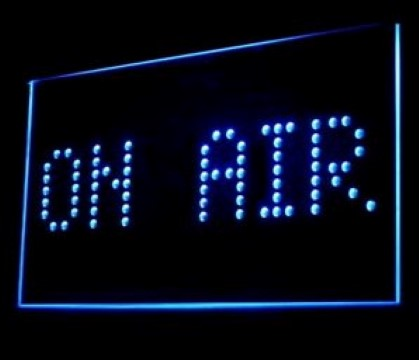 On The Air Studio LED Neon Sign