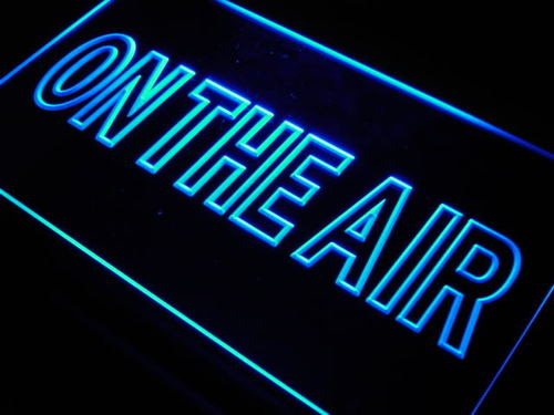 on the air studio room game neon light sign on the air neon