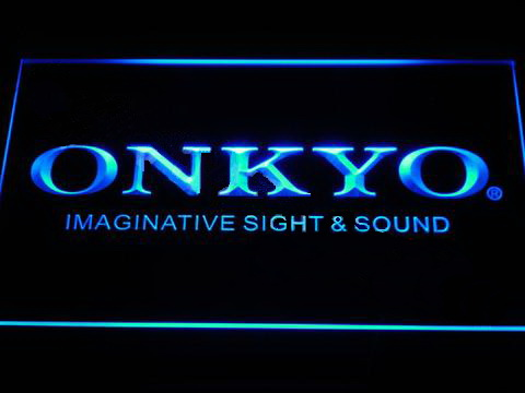 Onkyo LED Neon Sign