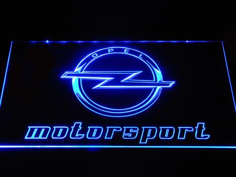 Opel Motorsport LED Neon Sign