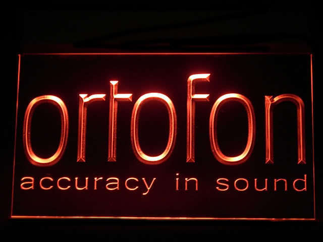 Ortofon Sound DJ LED Sign
