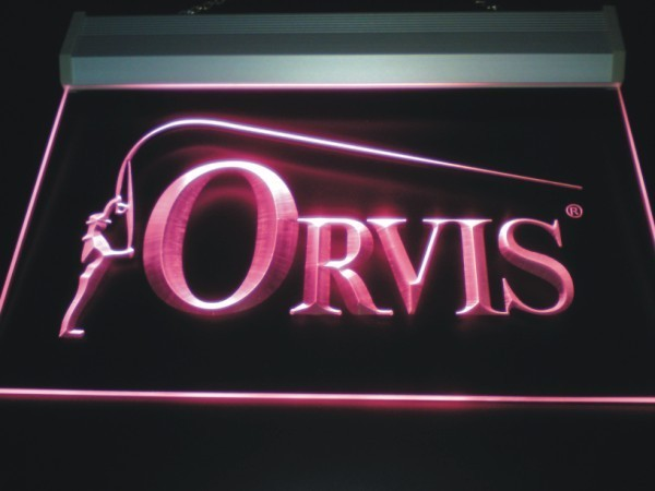 Orvis Fishing LED Neon Sign