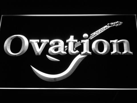 Ovation Guitars Acoustic Music LED Neon Sign