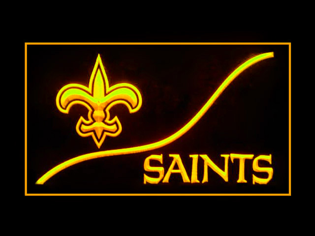 New Orleans Saints Cool Display Shop Neon Light Sign