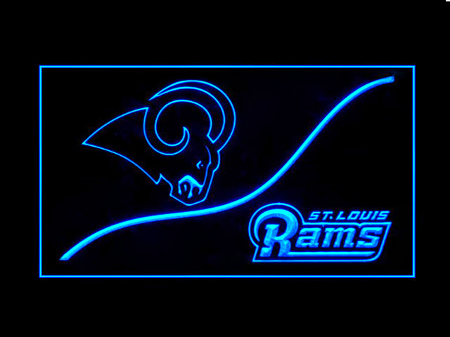 St. Louis Rams Cool Display Shop Neon Light Sign