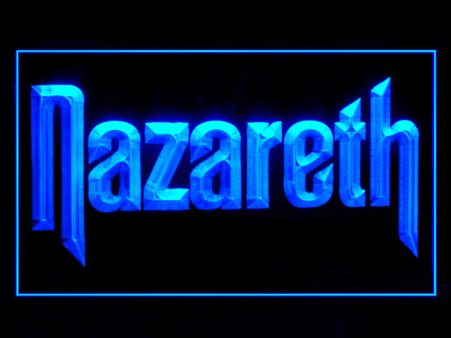 Nazareth Display Led Light Sign