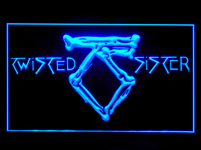 Twisted Sister Display Led Light Sign