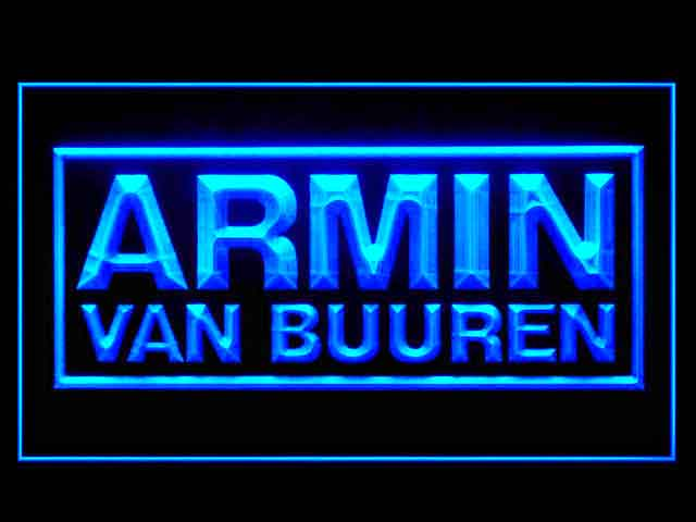Armin Van Buuren Display Led Light Sign