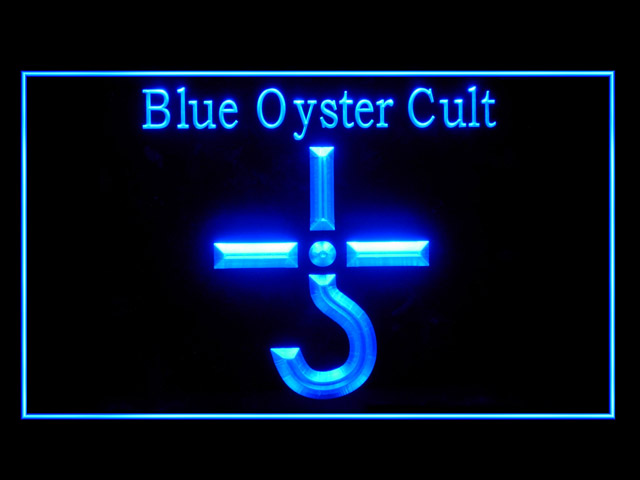 Blue Oyster Cult Display Led Light Sign