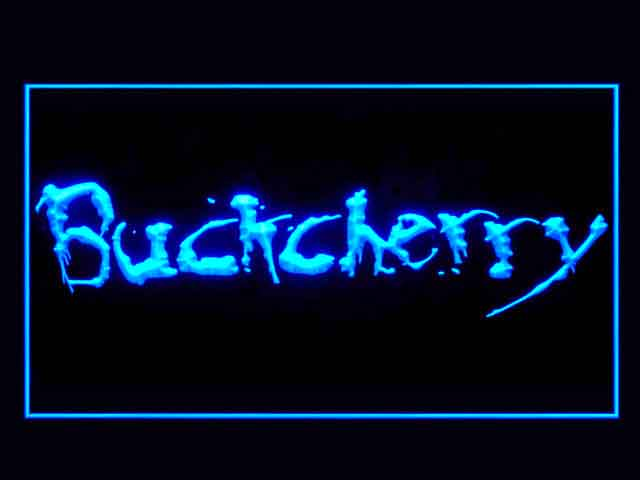 Buckcherry Display Led Light Sign