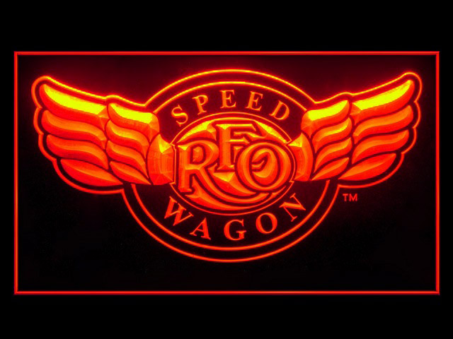 Reo Speedwagon Display Led Light Sign
