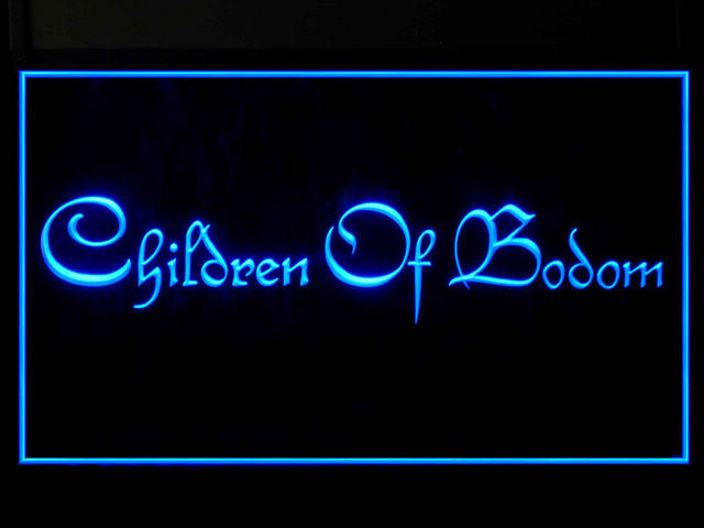 Children of Bodom Display Led Light Sign