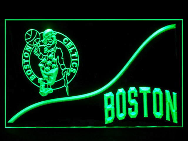 Boston Celtics Bar Shop Neon Light Sign